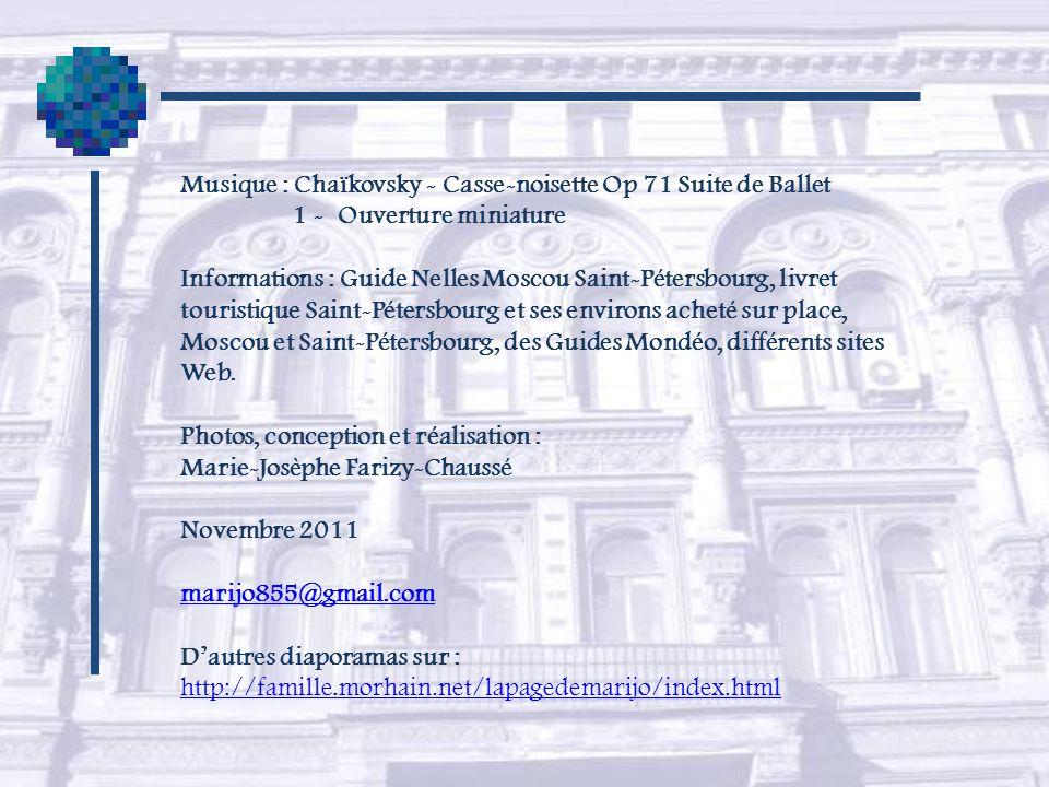 Musique : Chaïkovsky - Casse-noisette Op 71 Suite de Ballet