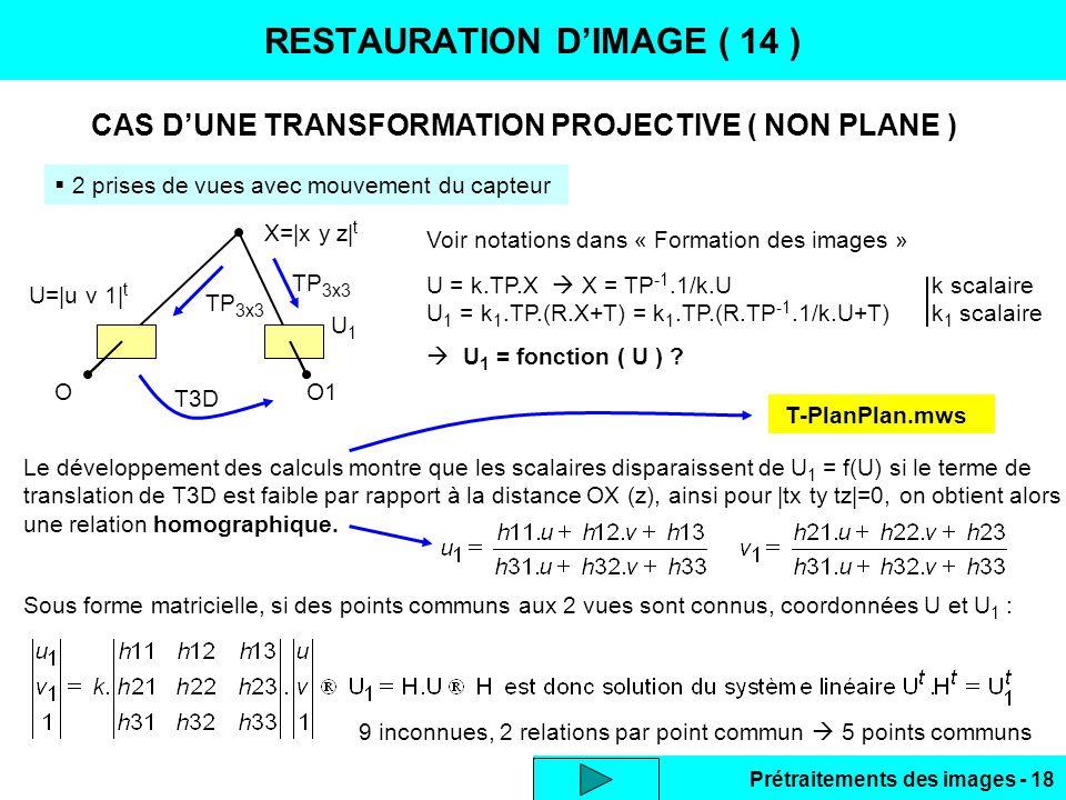 RESTAURATION D'IMAGE ( 14 )