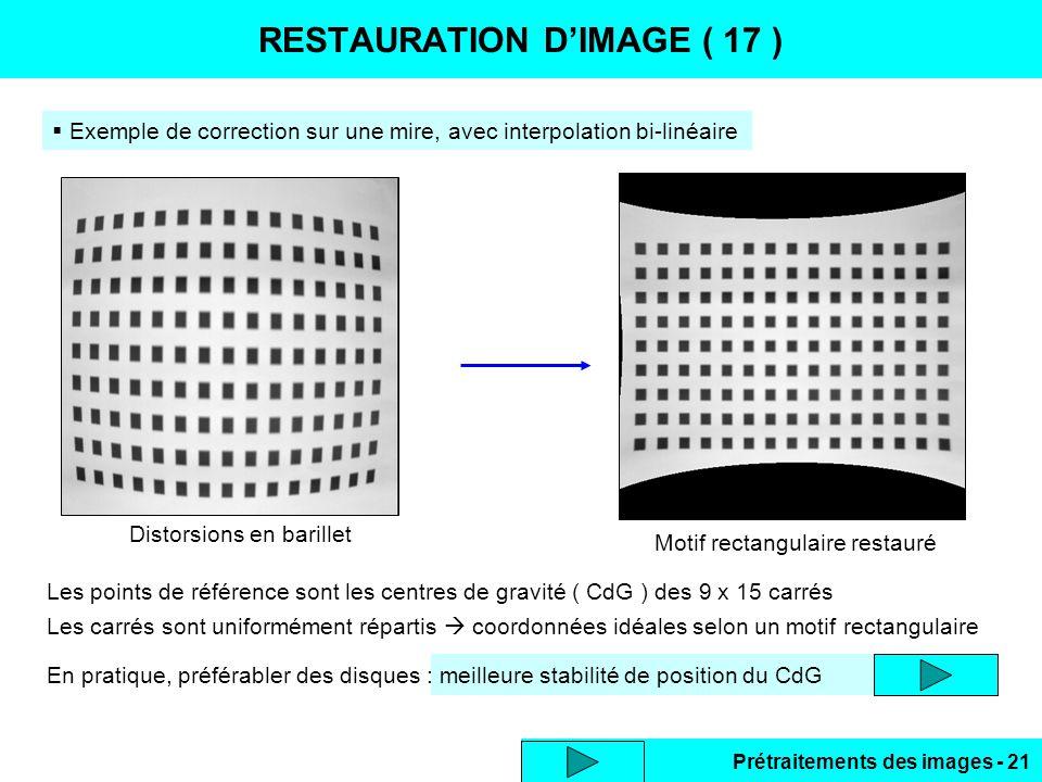 RESTAURATION D'IMAGE ( 17 )