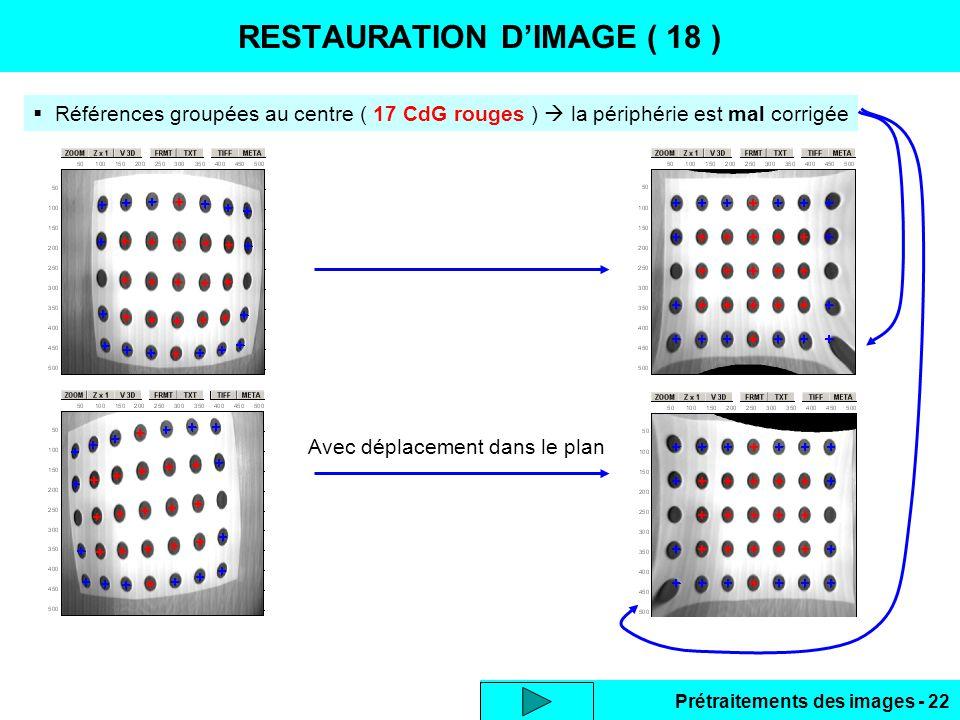 RESTAURATION D'IMAGE ( 18 )