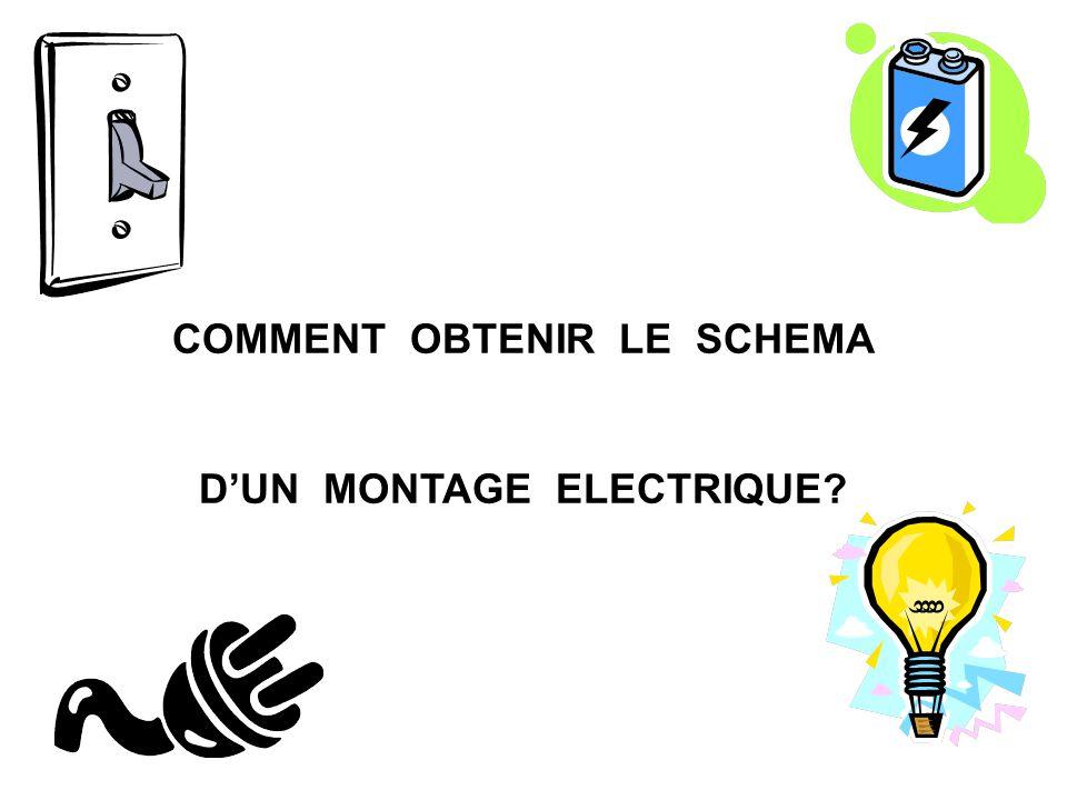 COMMENT OBTENIR LE SCHEMA D'UN MONTAGE ELECTRIQUE
