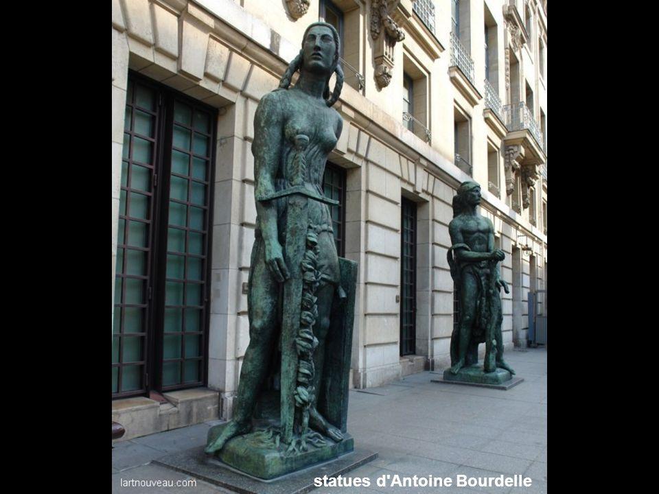 statues d Antoine Bourdelle