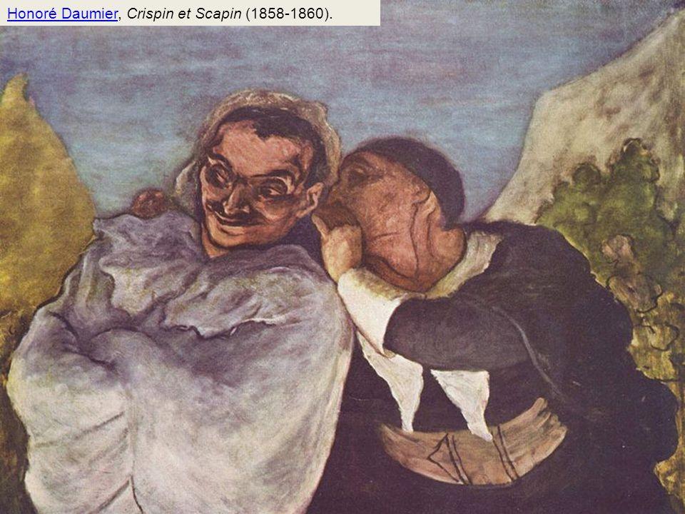 Honoré Daumier, Crispin et Scapin (1858-1860).