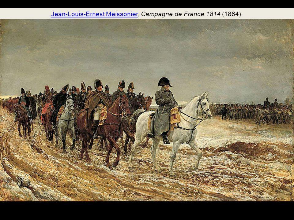 Jean-Louis-Ernest Meissonier, Campagne de France 1814 (1864).