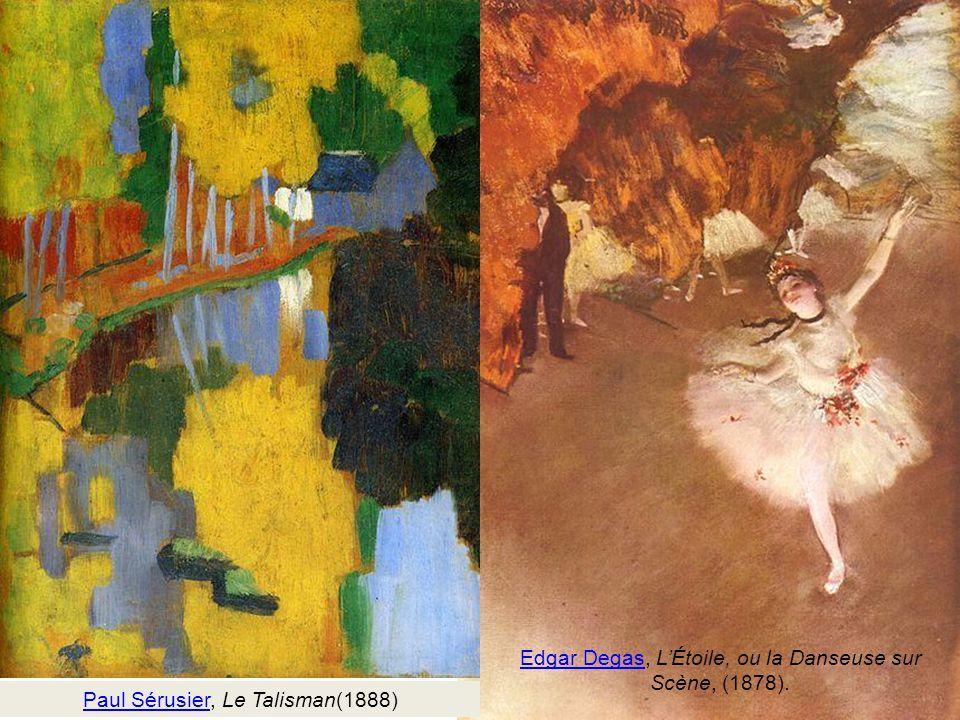 Edgar Degas, L'Étoile, ou la Danseuse sur Scène, (1878).