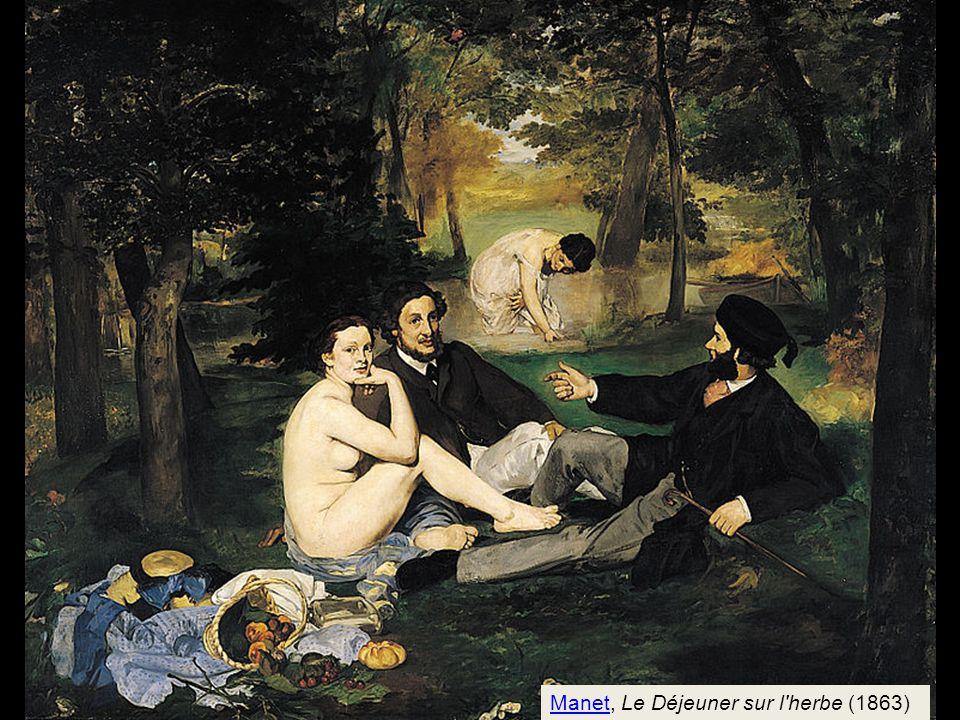 Manet, Le Déjeuner sur l herbe (1863)