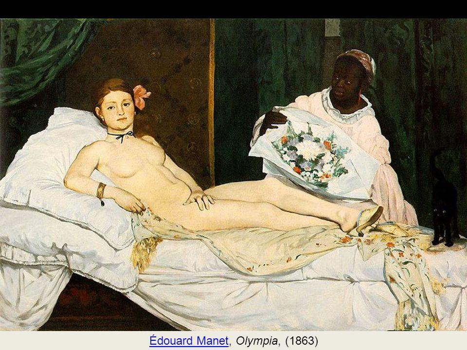 Édouard Manet, Olympia, (1863)