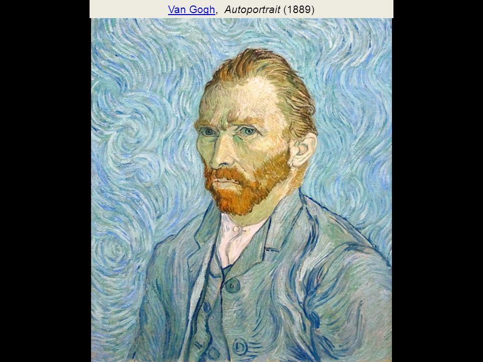 Van Gogh, Autoportrait (1889)