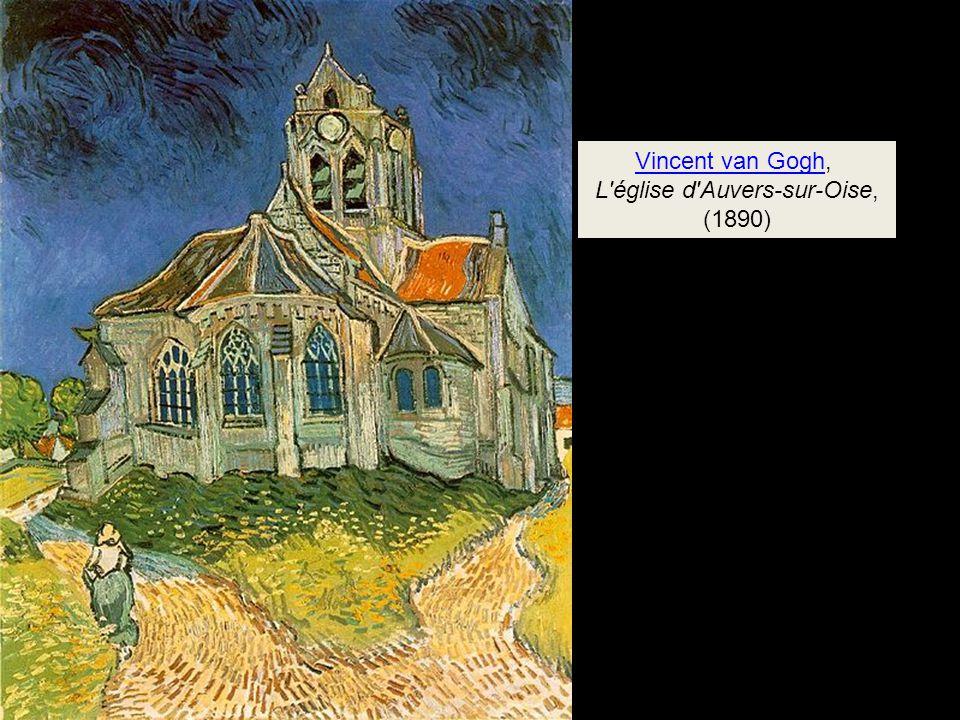 L église d Auvers-sur-Oise,