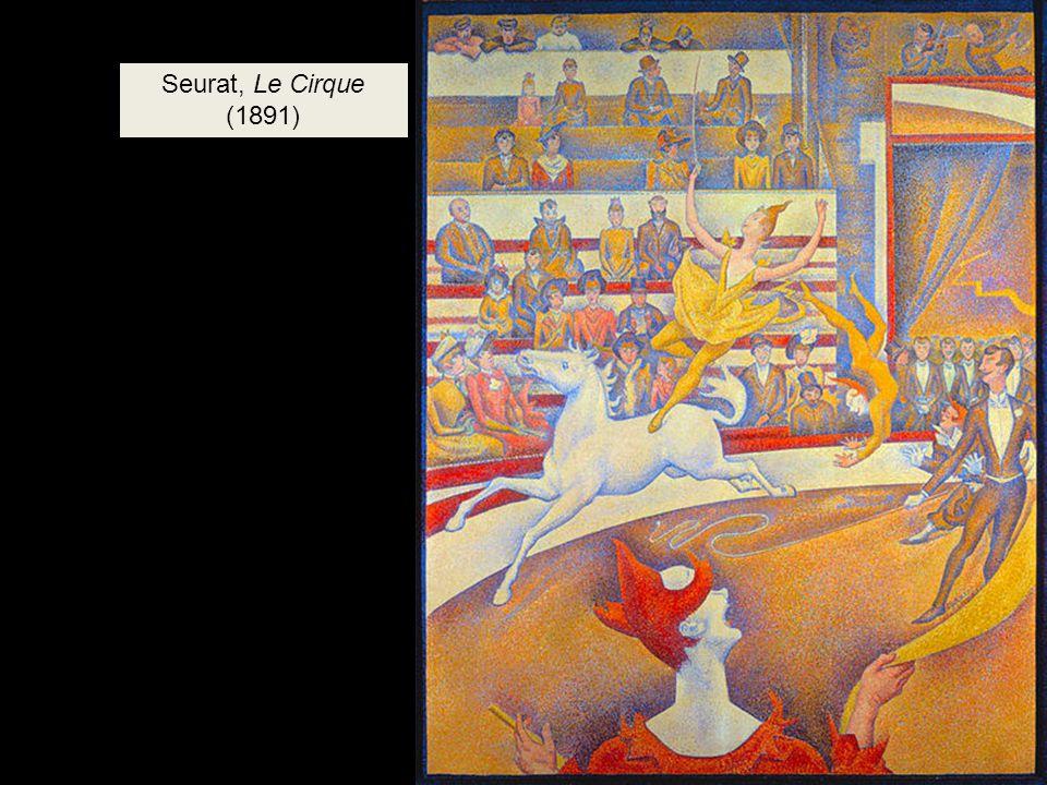 Seurat, Le Cirque (1891)