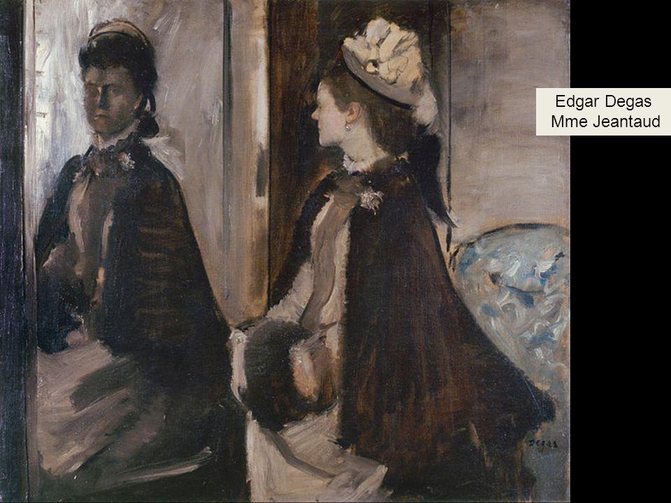 Edgar Degas Mme Jeantaud