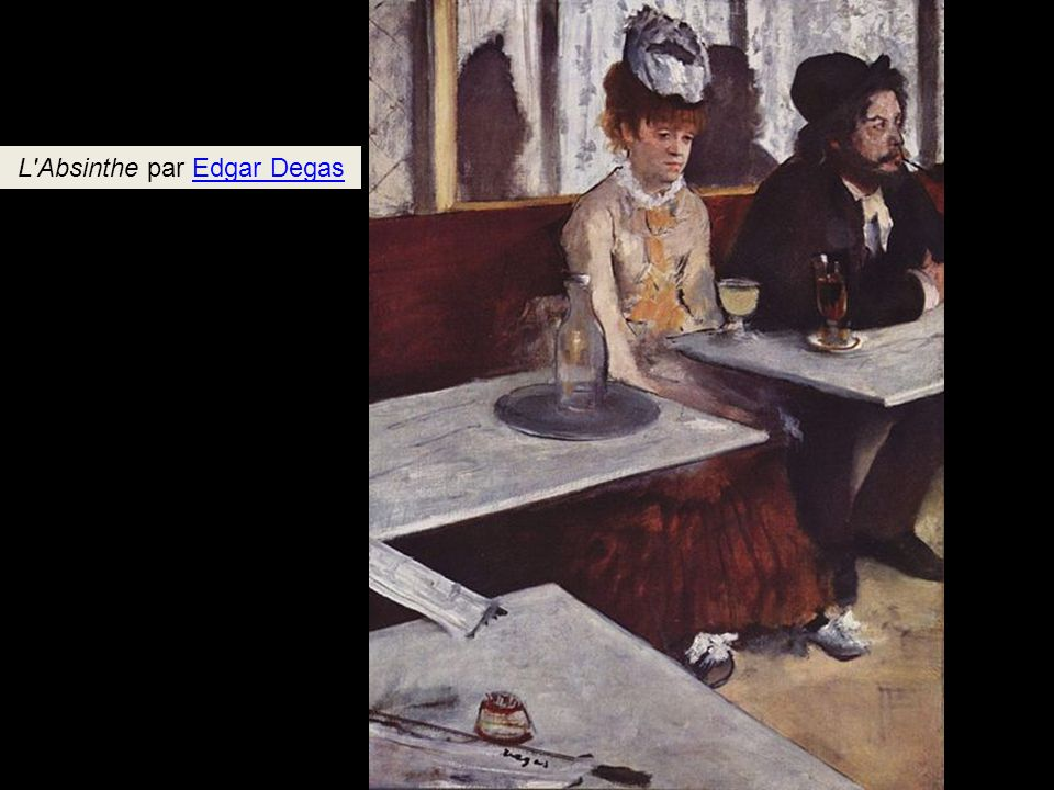 L Absinthe par Edgar Degas