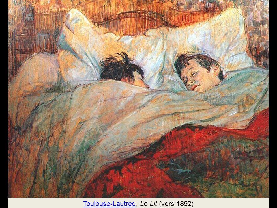 Toulouse-Lautrec, Le Lit (vers 1892)