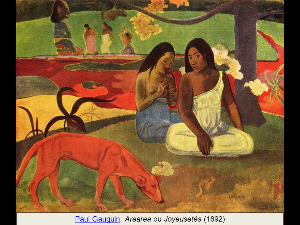 Paul Gauguin, Arearea ou Joyeusetés (1892)