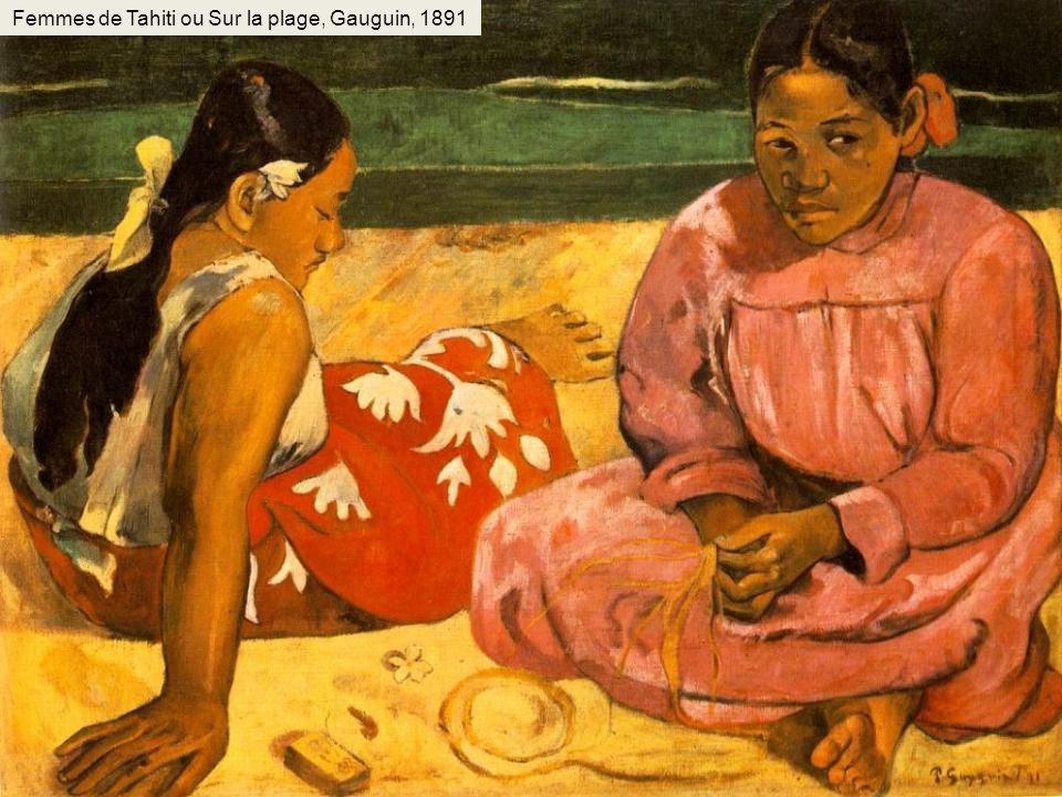 Femmes de Tahiti ou Sur la plage, Gauguin, 1891
