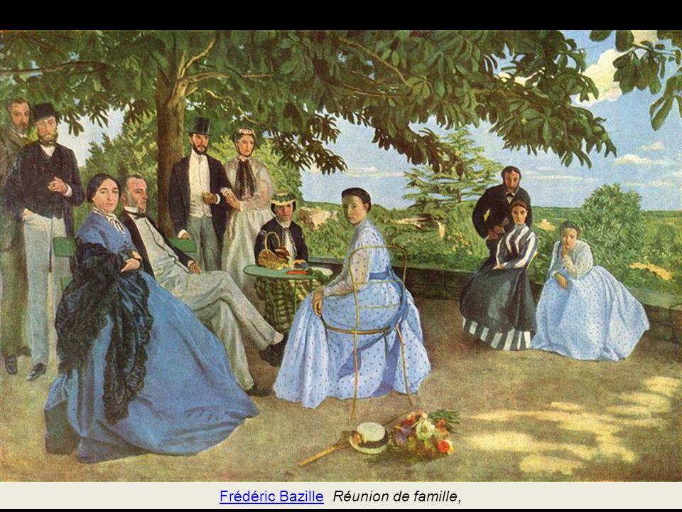 Frédéric Bazille Réunion de famille,