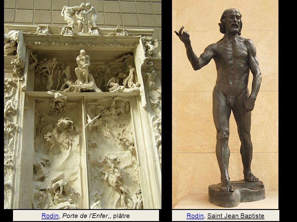 Rodin, Porte de l Enfer,, plâtre Rodin, Saint Jean Baptiste