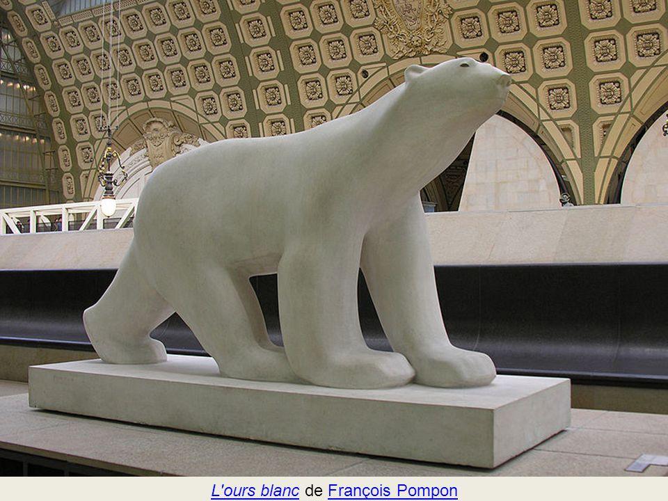 L ours blanc de François Pompon