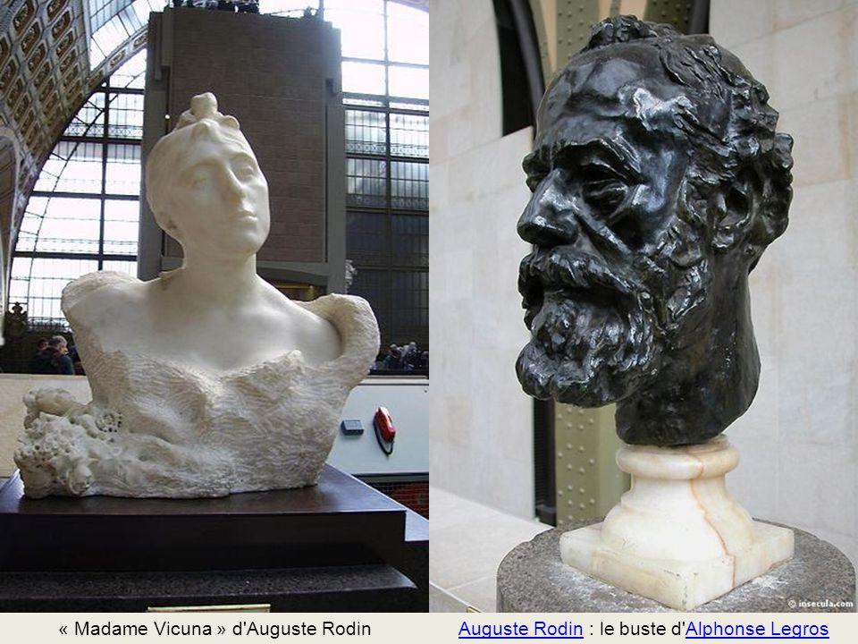 « Madame Vicuna » d Auguste Rodin