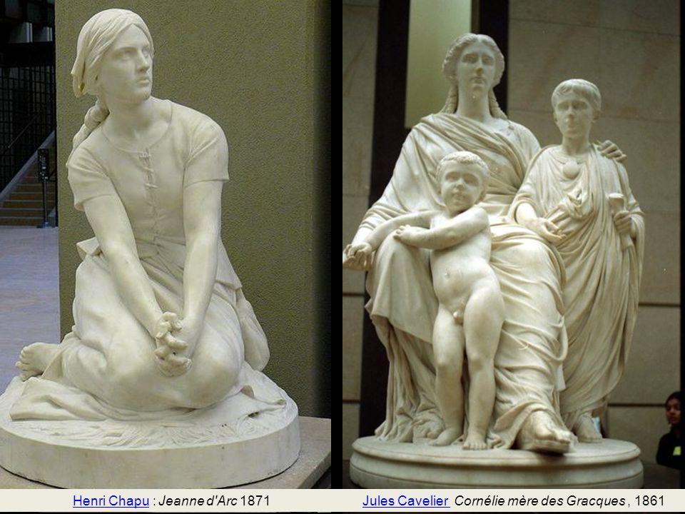 Henri Chapu : Jeanne d Arc 1871