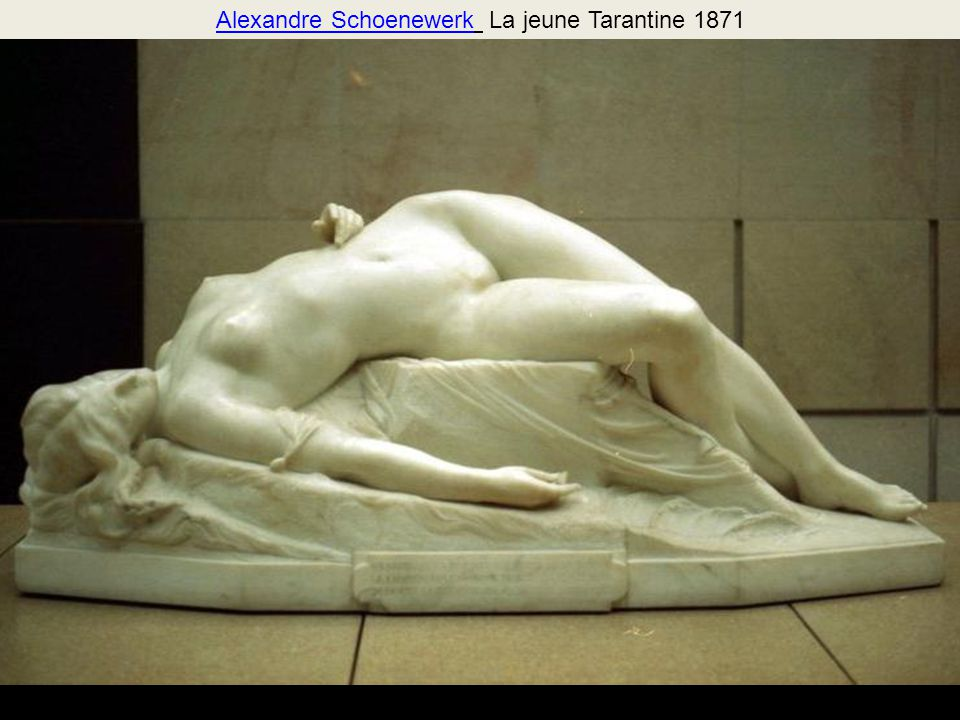 Alexandre Schoenewerk La jeune Tarantine 1871