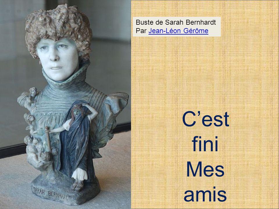 Buste de Sarah Bernhardt