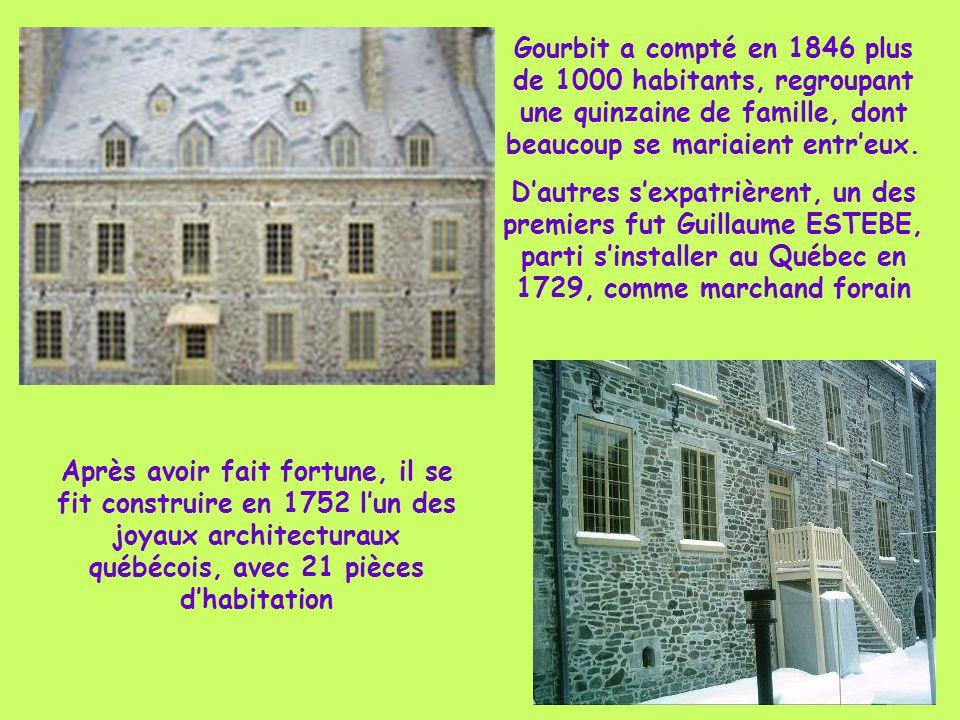 Gourbit a compté en 1846 plus de 1000 habitants, regroupant une quinzaine de famille, dont beaucoup se mariaient entr'eux.
