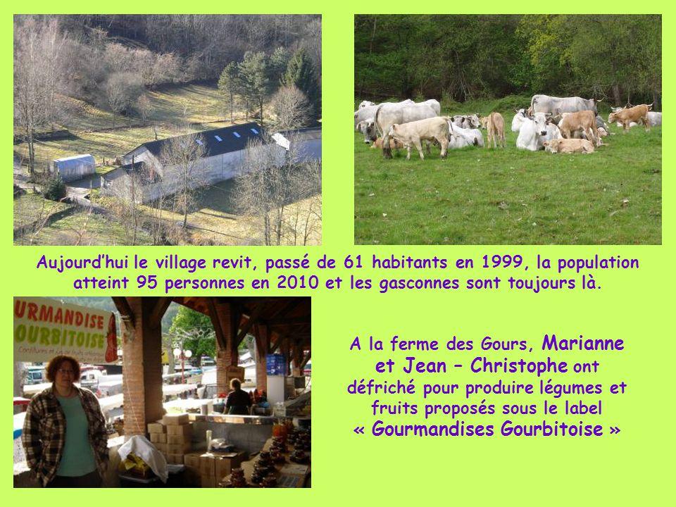 Aujourd'hui le village revit, passé de 61 habitants en 1999, la population atteint 95 personnes en 2010 et les gasconnes sont toujours là.