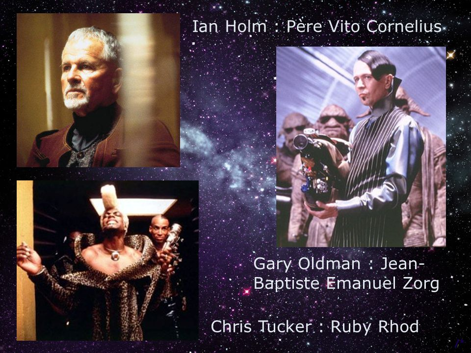 Ian Holm : Père Vito Cornelius