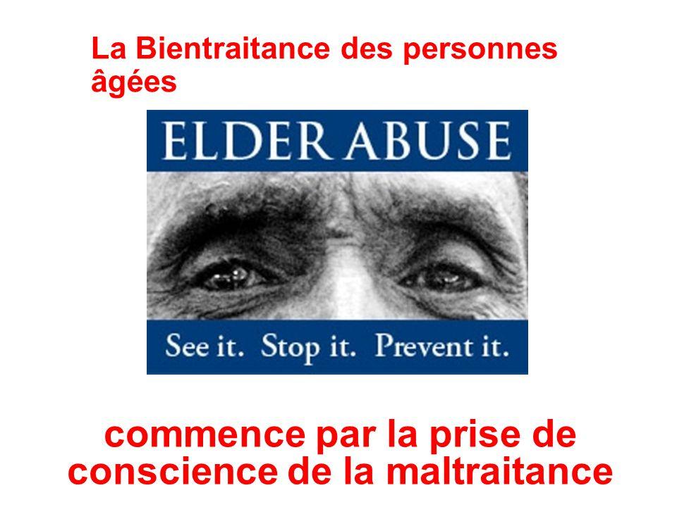 La Bientraitance des personnes âgées