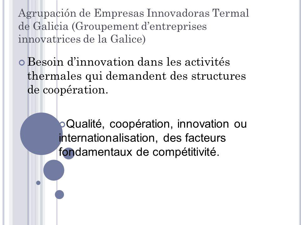Agrupación de Empresas Innovadoras Termal de Galicia (Groupement d'entreprises innovatrices de la Galice)