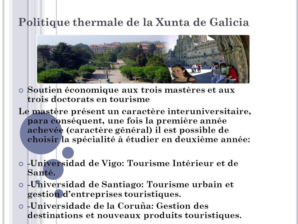 Politique thermale de la Xunta de Galicia