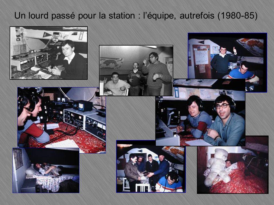 Un lourd passé pour la station : l'équipe, autrefois (1980-85)