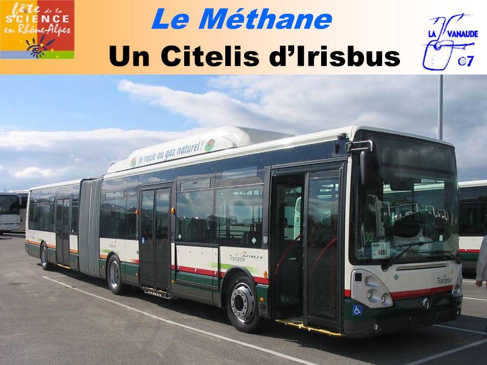 Le Méthane Un Citelis d'Irisbus