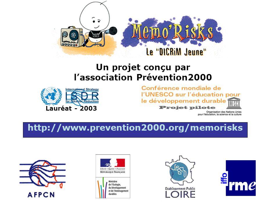 Un projet conçu par l'association Prévention2000