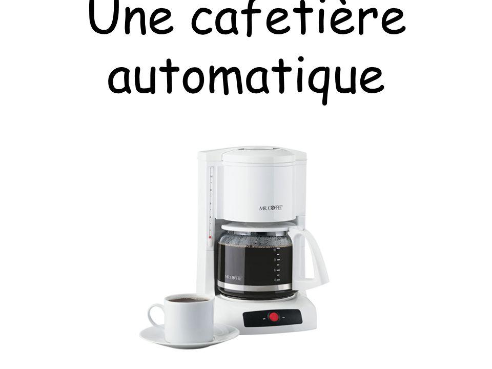 Une cafetière automatique