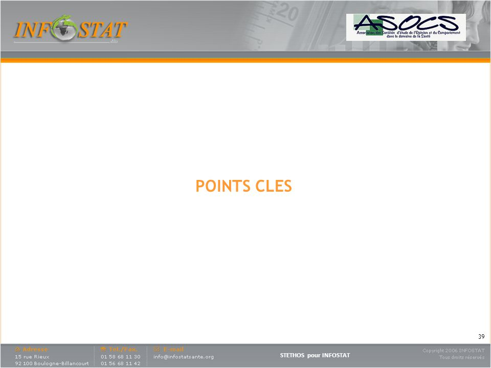 POINTS CLES
