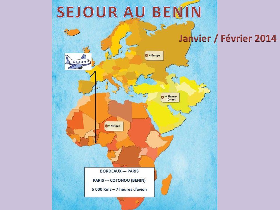 SEJOUR AU BENIN Janvier / Février 2014