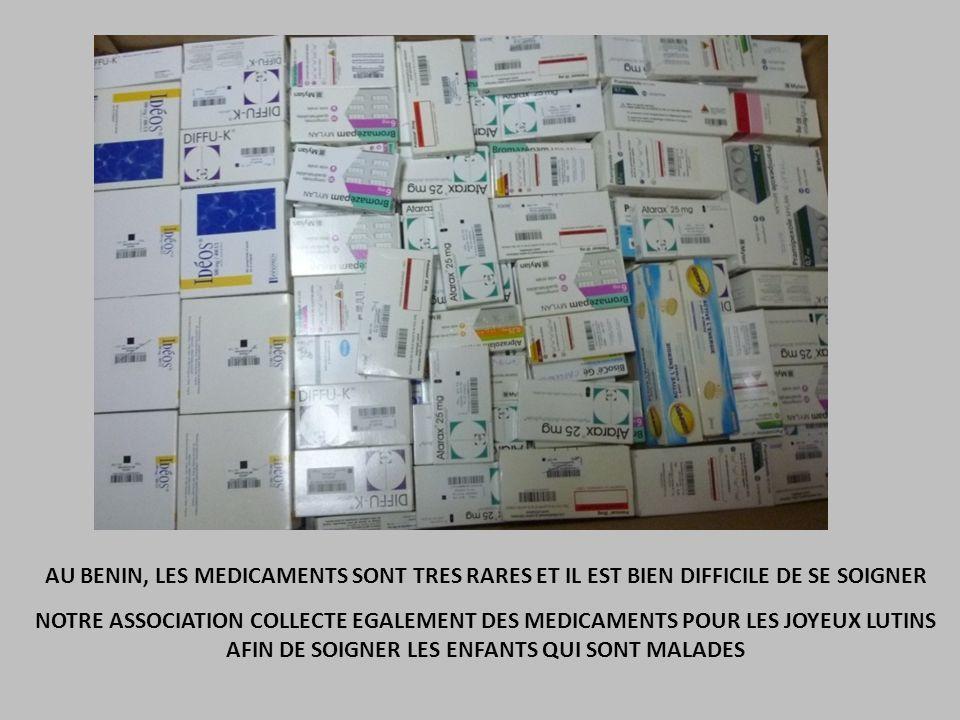 AU BENIN, LES MEDICAMENTS SONT TRES RARES ET IL EST BIEN DIFFICILE DE SE SOIGNER