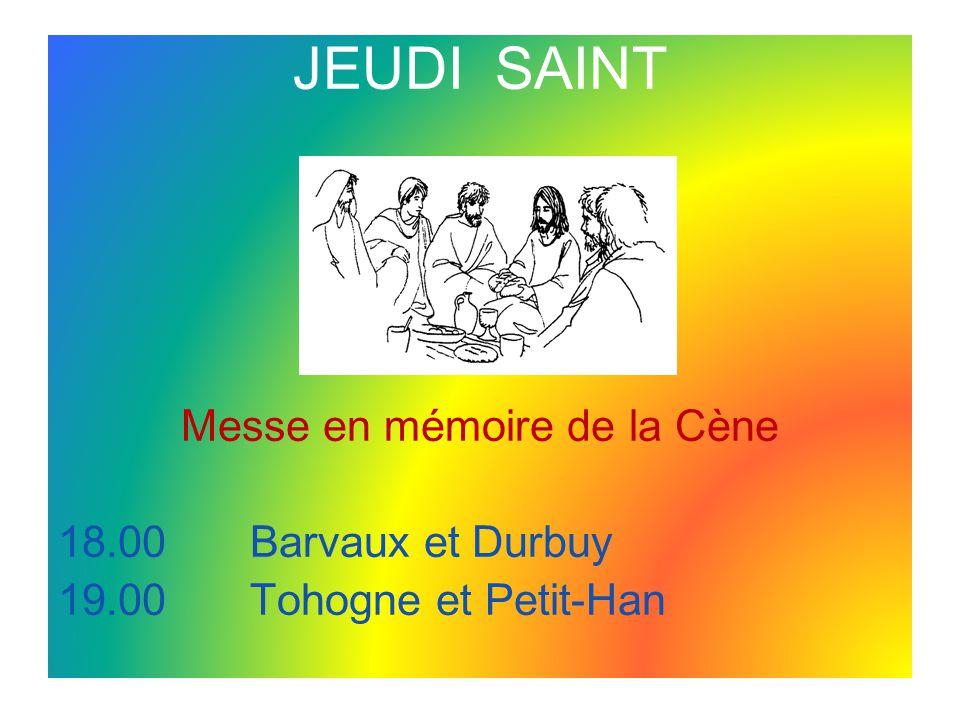 Messe en mémoire de la Cène