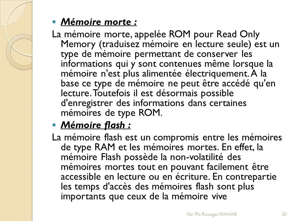 Mémoire morte :