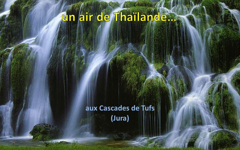 un air de Thaïlande… aux Cascades de Tufs (Jura)