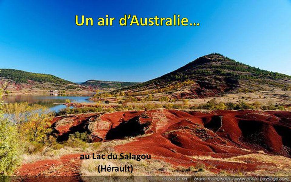Un air d'Australie… au Lac du Salagou (Hérault)