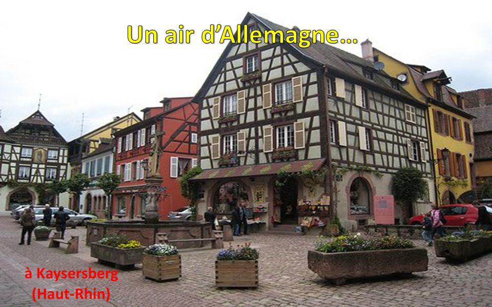 Un air d'Allemagne… à Kaysersberg (Haut-Rhin)