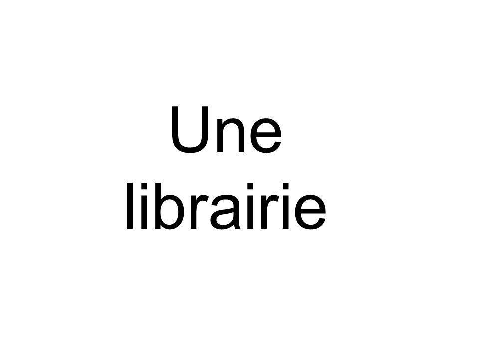 Une librairie