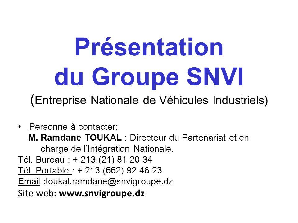 (Entreprise Nationale de Véhicules Industriels)