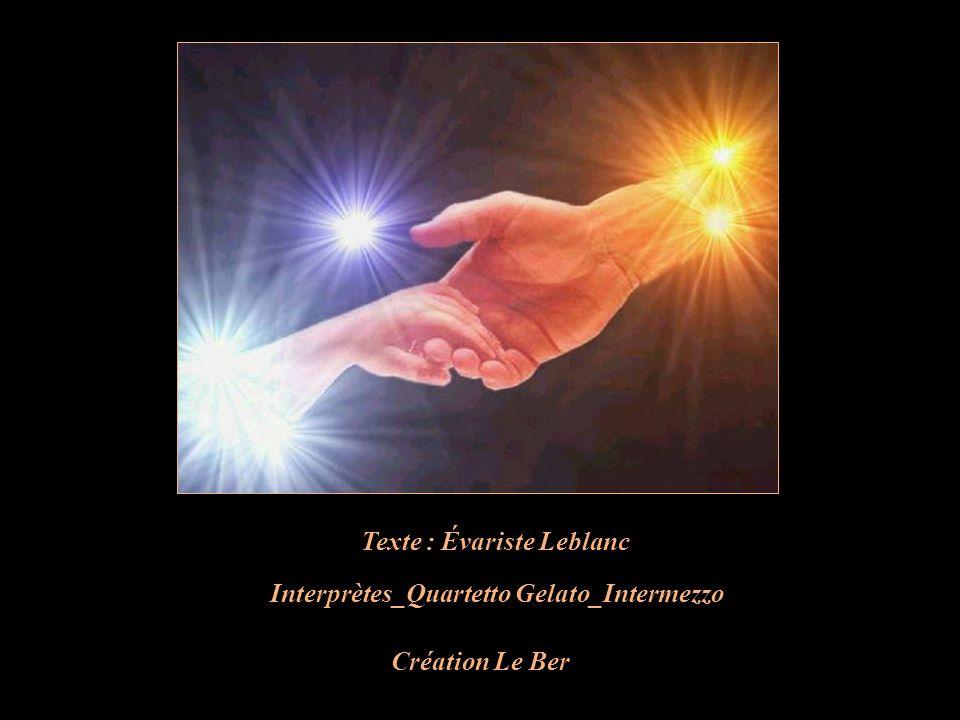 Texte : Évariste Leblanc