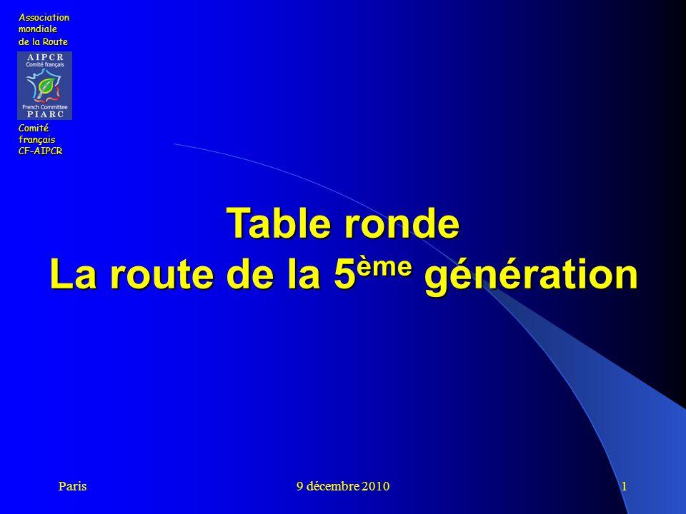 La route de la 5ème génération