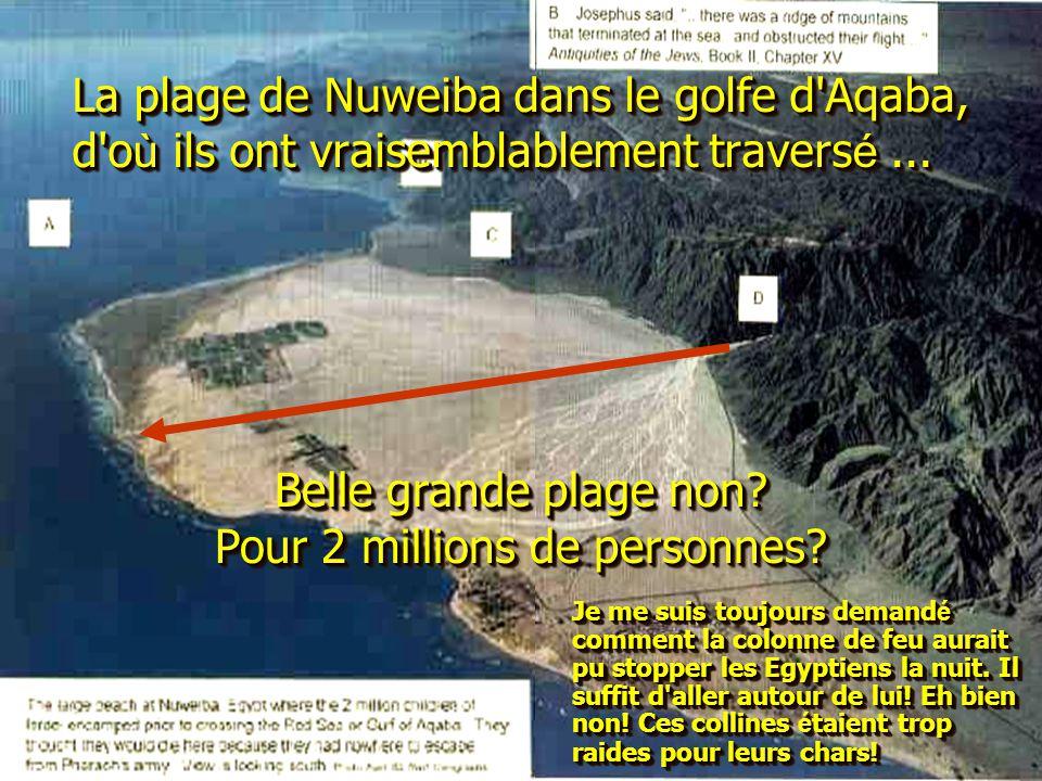 Belle grande plage non Pour 2 millions de personnes