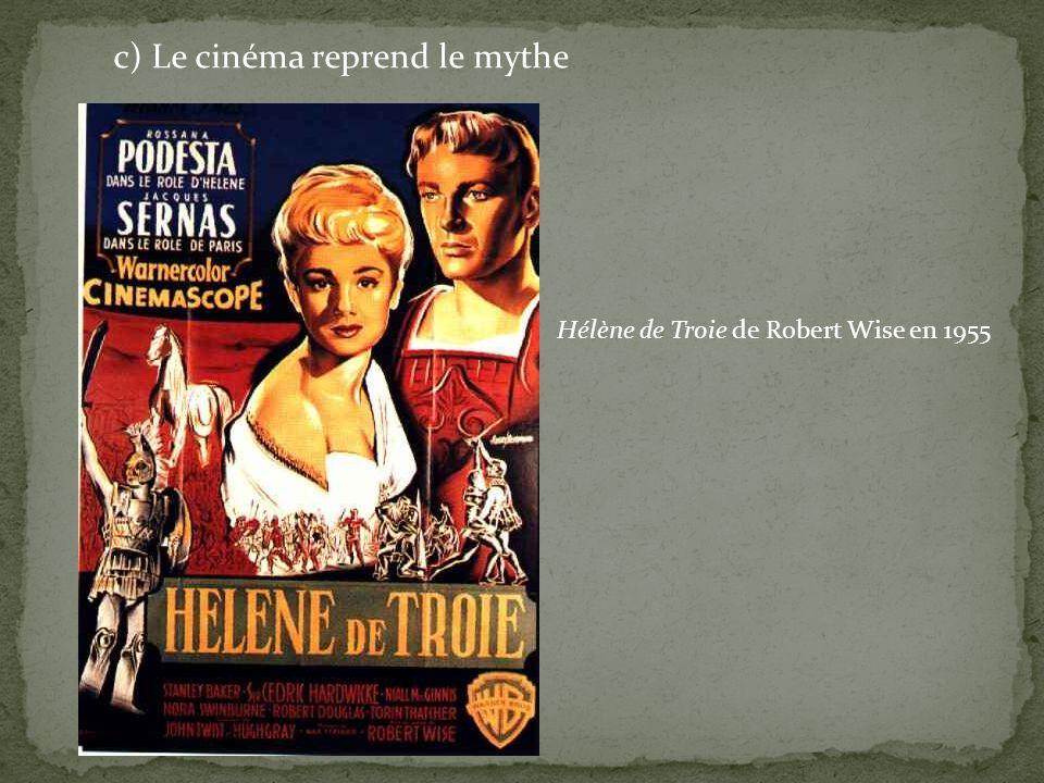 c) Le cinéma reprend le mythe